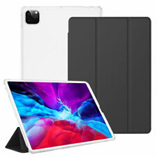 "For iPad Pro 10.5"" 11"" 12.9"" 2020 Slim Shell Flip Leather Case Smart Stand Cover"