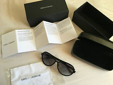 Kris Van Assche x LINDA FARROW Sunglasses Aviator -New Boxed -RRP £265 VAN NOTEN