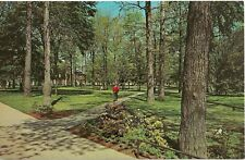 Campus Grove, Indiana State College, Indiana PA Postcard