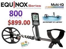 Minelab'S New Equinox 800 Metal Detector Waterproof To 3 Meters Ships Free