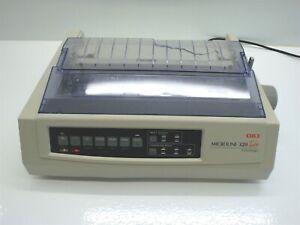 Vintage OKI Microline 320 Turbo 9 Pin USB Dot Matrix Printer GE7000A