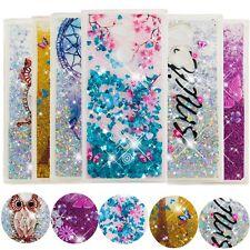 For Sony Xperia XZ1 L2 Floating Glitter Liquid Glitter Moving Rubber Case Cover