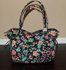 💚 NWT Vera Bradley Iconic XL Glenna Tote Bag Shoulder Purse in Vines Floral