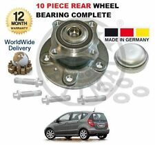 FOR MERCEDES A CLASS 2004-2012 NEW 10 PIECE REAR WHEEL BEARING HUB KIT COMPLETE