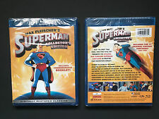 Max Fleischers Superman 2-Disc Blu Ray (2012) New Collector's Edition Cartoon