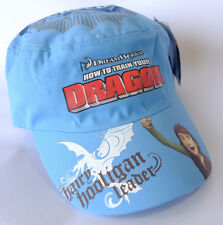 HOW TO TRAIN YOUR DRAGON BLUE CAPS HAT 54cm New with Tags - On Sale!
