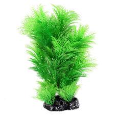 Kuenstliche Aquarium Unterwasser Pflanze Ornament 16cm Koerpergroesse Gruen F3A3