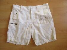 Bermuda Ralph Lauren Blanc Taille 40 à - 62%