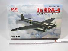 ICM 48233  JU 88 A-4  WWII German Bomber 1:48 lose in Box mb5613