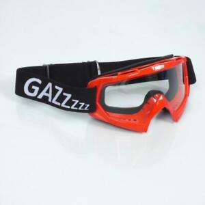 Ausrüstung Générique Motorrad Maske Rot Gas Neu