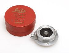 Leica Leitz Elmar 3,5 cm f/3,5 #252365 mit M39 Schraubgewinde