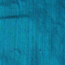 Blue Dupion Silk 60-70 Grams Fabric By the Yard