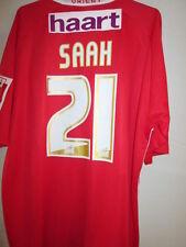 A Orient SAAH match worn & signé 2006-2007 home football chemise avec coa