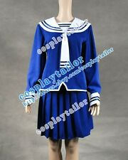 Fruits Basket Cosplay Costume Navy Blue Uniform Accurate Designed Tailor-made