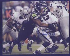 Seahawk Malcolm Smith Super Bowl MVP vs Raiders Autograph D Blue Pen