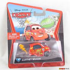 Disney Pixar Cars 2 Cartney Brakin #40 Chase by Mattel