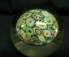 Gorgeous Vintage Murano glass paperweight  - NR - Millefori - very nice