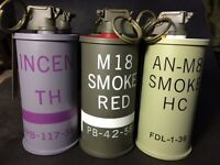 Toysoldier Dummy M18 Smoke Red Color navy seals pj devgru