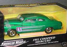 ERTL 1/18, 1951 CHOPPED MERCURY, Green, NEW