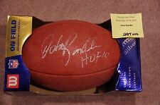 John Randle HOF 10 Minnesota Vikings Autographed Signed NFL Authentic Football