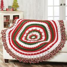 Herrschners® Rockin' Around Christmas Crochet Afghan Kit