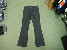 "Wallis Bootcut Jeans Size 8 Leg 30"" Faded Dark Blue Ladies Jeans"