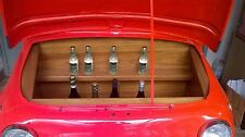 FIAT 500 FRONT END TURNED IN A CABINET BAR  LED LIGHTS INTERIOR DESIGN, BAR