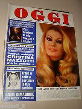 OGGI=1976/10=ANITA EKBERG=RALLYE COTE D'IVOIRE=CERDA=CAMILLO CROCIANI=GUIDA G.
