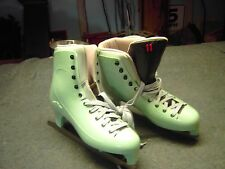 Lake Placid Green Ice Figure Skates Men size 11