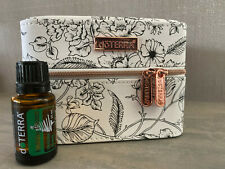 Brand New Genuine doTERRA 15ml Holiday Peace Oil Blend with Rose Train Case