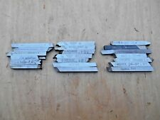 "LATHE TOOL BITS , HSS , 1/4"" x 1/4"" MOMAX , REX 95 , OTHERS , LOT OF 20"