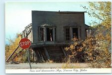 Dawson City Yukon Canada guns and ammunition shop Strait's 4x6 Postcard A43