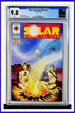 Solar Man Of The Atom #27 CGC Graded 9.8 Valiant November 1993 Comic Book