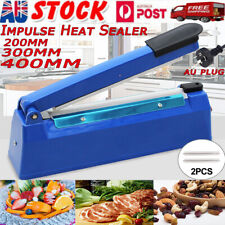 Impulse Heat Sealer Poly Bag Electric Plastic Sealing Machine Manual Shrink Wrap