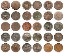 Netherlands Indies - Lot ½ Cent 1858 / 1914 - 15 Stuks