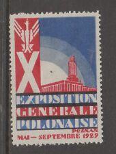POLAND Cinderella revenue fiscal stamp 7-9  nicer item- gum mint hinged