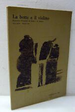 LA BOTTE E IL VIOLINO n.2 1964 Repertorio bimestrale di design e di disegno