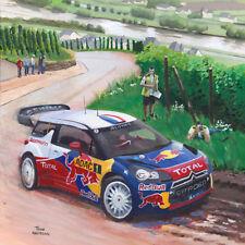 Card Citroën DS3 WRC 2012 #1 Loeb / Elena Rally Germany by Toon Nagtegaal (OE)