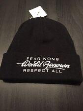 STAPLE WORLD RENOWN BEANIE FEAR NONE RESPECT ALL!!