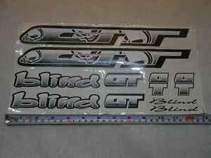 1989 GT BMX Aggressor Decal Set Magenta and White on Clear Odi JT AME Yellow
