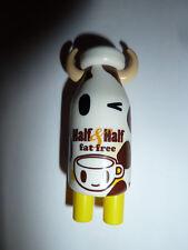 Tokidoki Moofia Half & Half Milk bottle mini vinyl figure cow kawaii cute!!