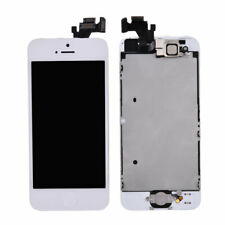 LCD Screen Touch Digitizer Home Button Front Camera Frame for iPhone 5 White