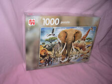 /// PUZZLE ANIMAUX / LA FAUNE DU KENYA 1000 PIECES JUMBO NEUF ///