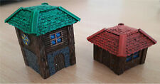 Small home made 3D printed toy house constructor
