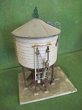 vintage O or Ho gauge detailed wood water tower lot12