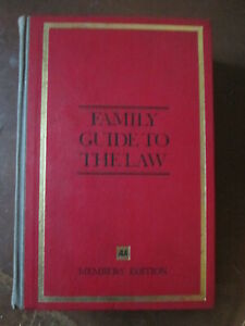 AA family guide to the law.Automobile association. RAC.AA book