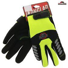 Ironclad Reflective Work Gloves Hi Vis M Xl 2xl New