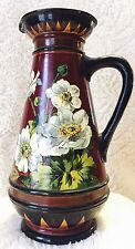 Antique Royal Doulton Rare Mary Slater Floral Ewer Pitcher Vase 1880s Price Drop