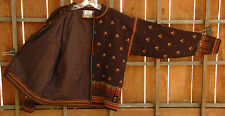 Dale of Norway Sweater, US Olympic Collection 2002-M-Pure New Wool-Floral-Zip Up