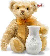 Steiff Sonnenblume Teddybär mit Vase brandneu 006753 nur 575 Hergestellt